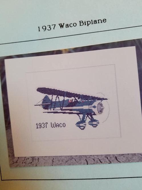 1937 Waco Biplane - $2 Chart