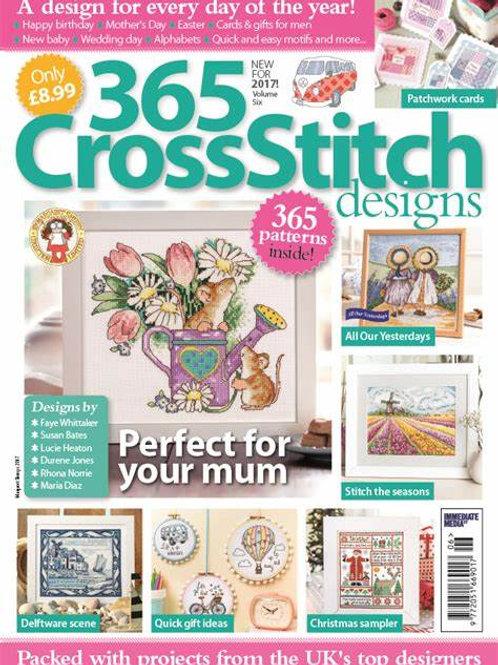 365 Cross Stitch Designs - 2017