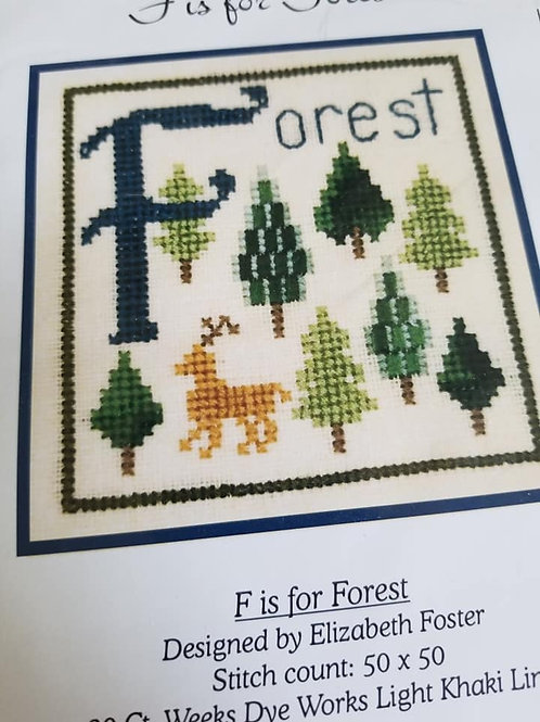 *F Is For Forest - $2 Chart