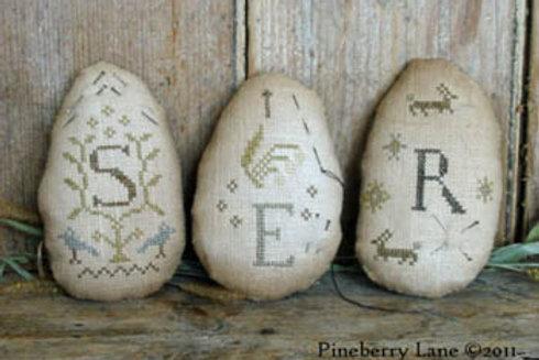 *Quaker Egg Pinkeeps - Pineberry Lane