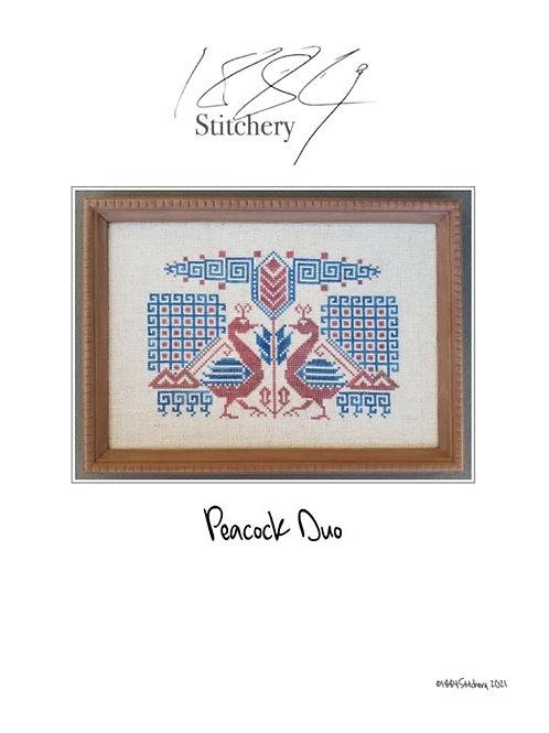 Peacock Duo - Paper Copy