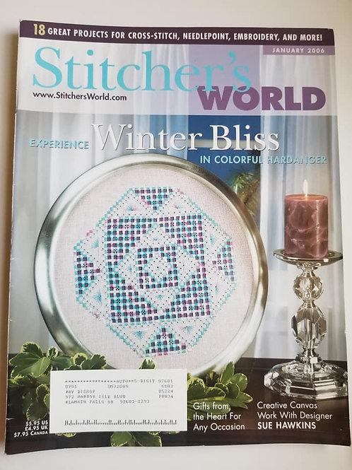 Stitcher's World - January 2006