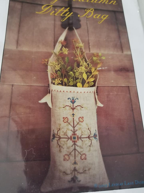 Early Autumn Ditty Bag - Lindsay Lane Designs