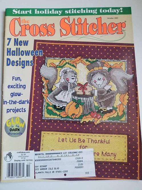 The Cross Stitcher - October 2003