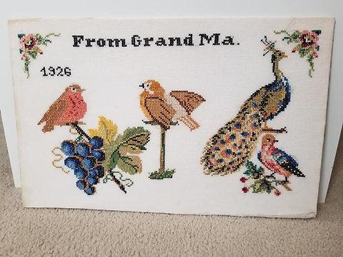 """From Grandma"" Piece"