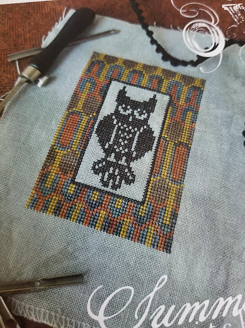 Owl - Summer House Stitche Workes