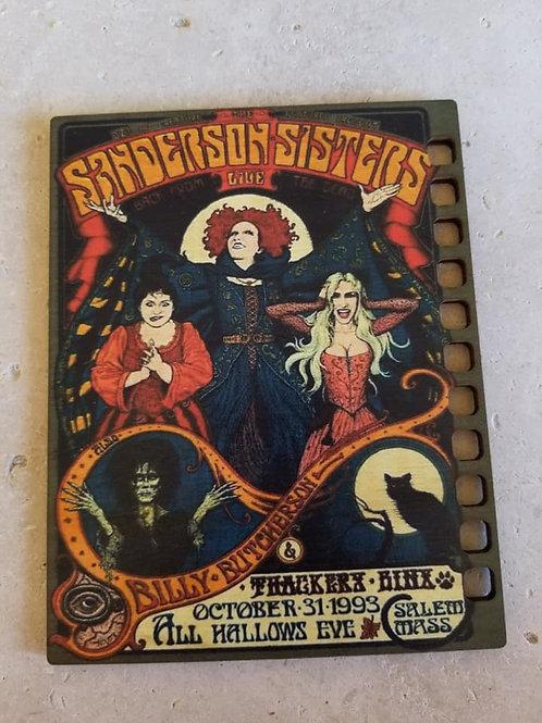 Sanderson Sisters Thread Organizer - Primitive & Wood