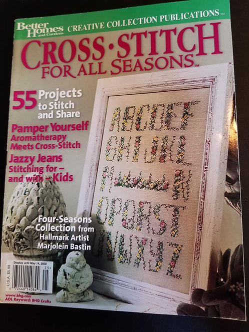 Cross Stitch For All Seasons - May 2002