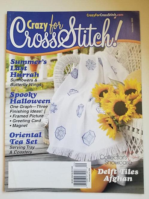 Crazy For Cross Stitch - Sept. 2003
