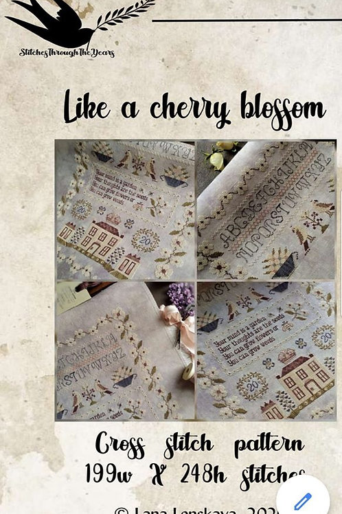 Like A Cherry Blossom - Stitches Through The Years
