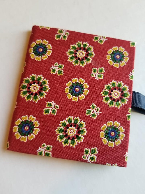 *Sampler Book - Red Flowers