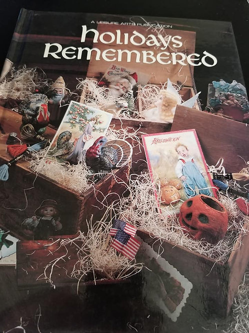 Holidays Remembered Book
