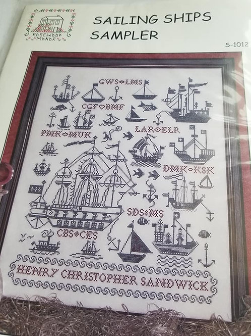 Sailing Ships Sampler - Rosewood Manor