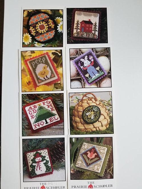 Ornaments (Set of 8) - The Prairie Schooler