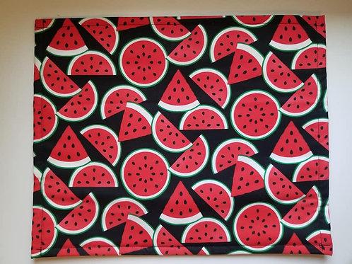 Watermelon Bag w/ clear vinyl
