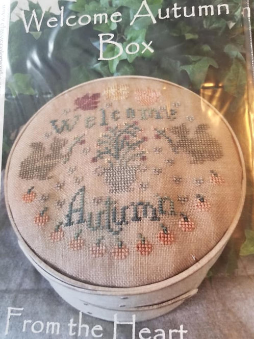 Welcome Autumn Box - From the Heart