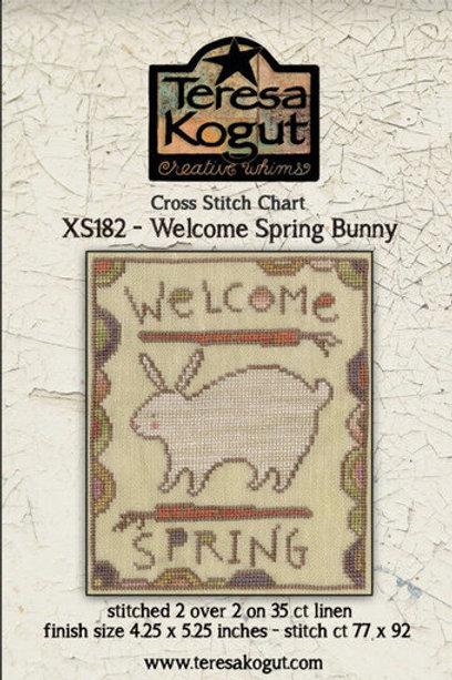 *Welcome Spring Bunny - Teresa Kogut