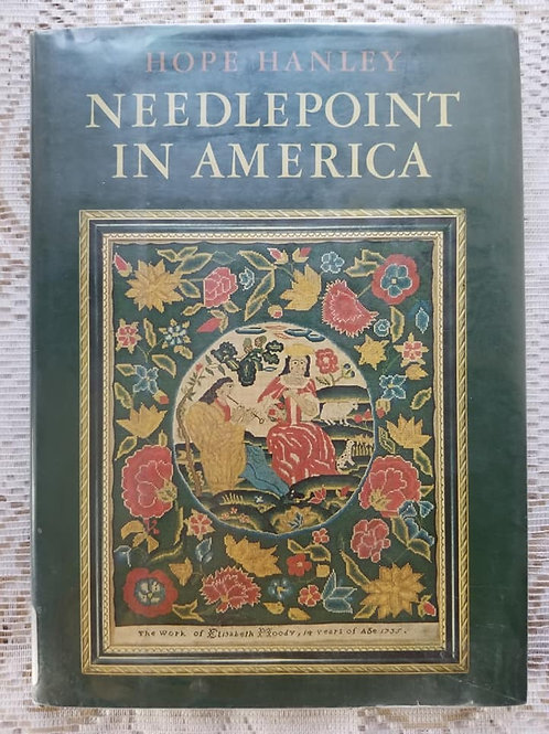 Needlepoint In America Book