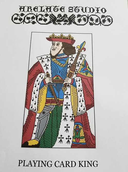 Playing Card King - Arelate Studio