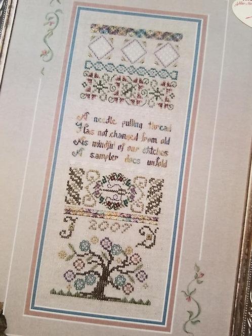 *A Needle and Thread Sampler - Jeannette Douglas