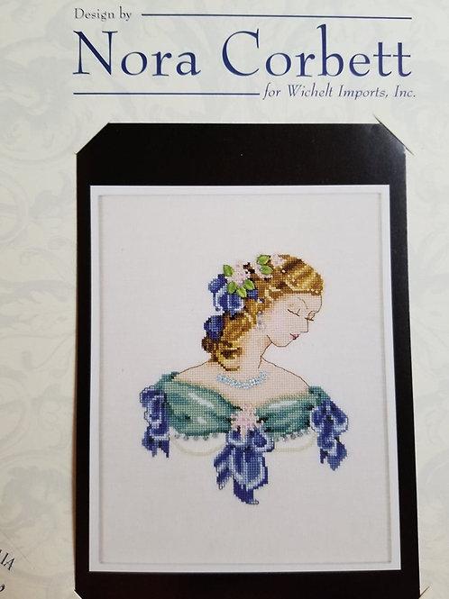 Portrait of Lauren in Blue - Nora Corbett