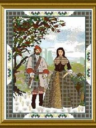 *The Scottish Lovers (Tapestry B) - Chatelaine