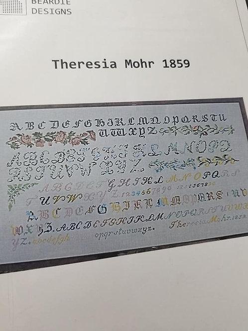 Theresia Mohr 1859 - Beardie Designs