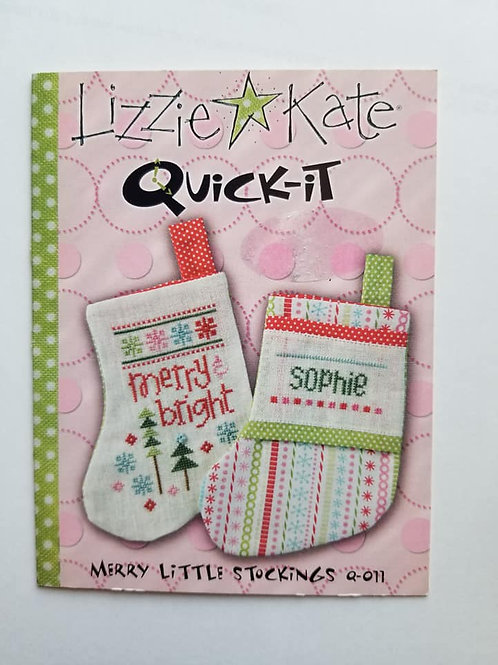Merry Little Stocking - Lizzie Kate