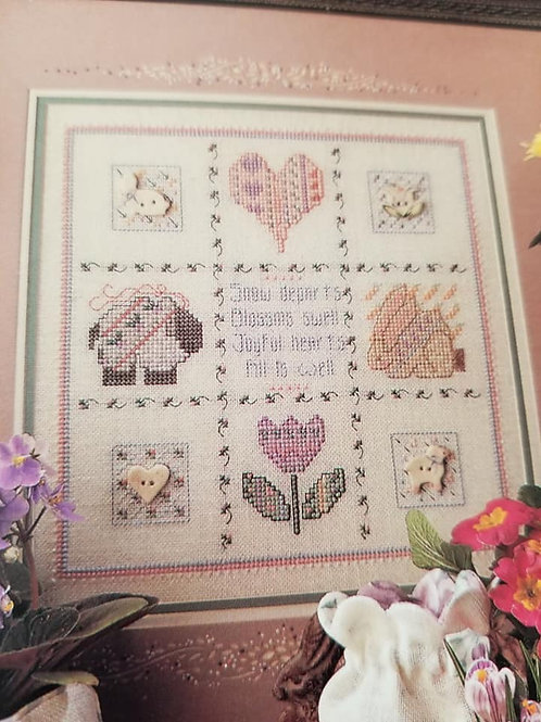 Buttoned Hearts - $2 Charts