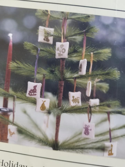 Feather Tree Ornaments - Brightneedle