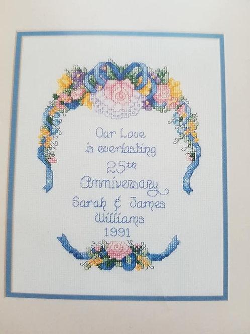 Anniversary Sampler - $2 Chart