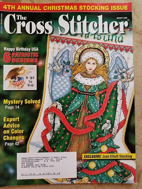 The Cross Stitcher - August 2006