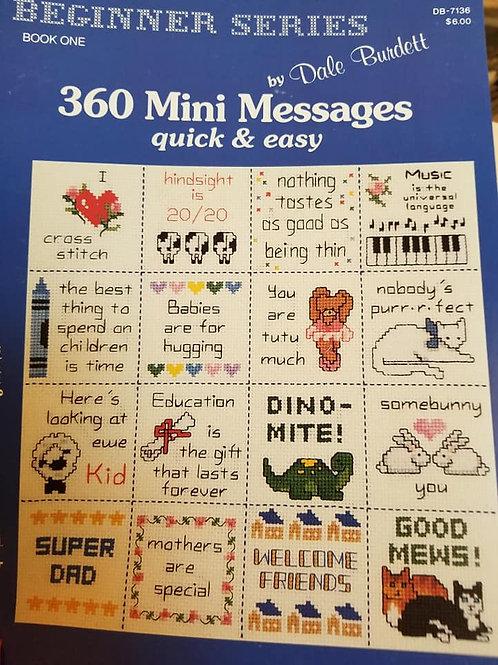 360 Mini Messages - $2 Chart