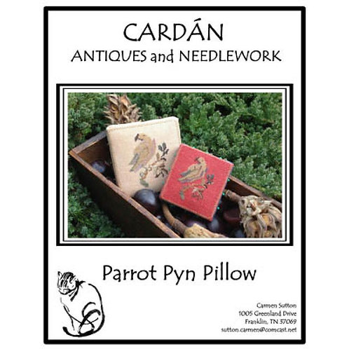 *Parrot Pyn Pillow - Cardan Antiques