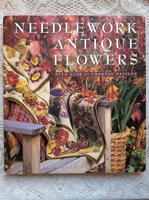 Elizabeth Bradley Needlework Antique Flowers - Charity Item