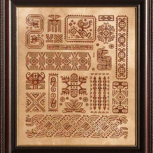 Mother Maya - Ink Circles