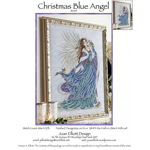 Christmas Blue Angel - Joan Elliott