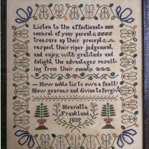 *Henrietta Frankland - Cardan Antiques
