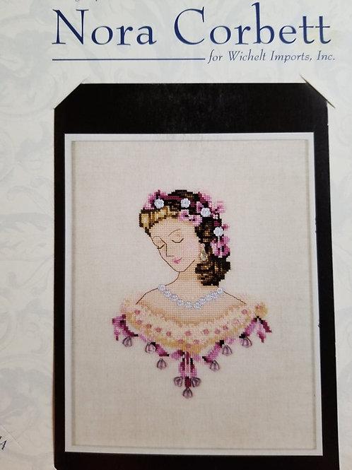 Portrait of Caroline in Pink - Nora Corbett