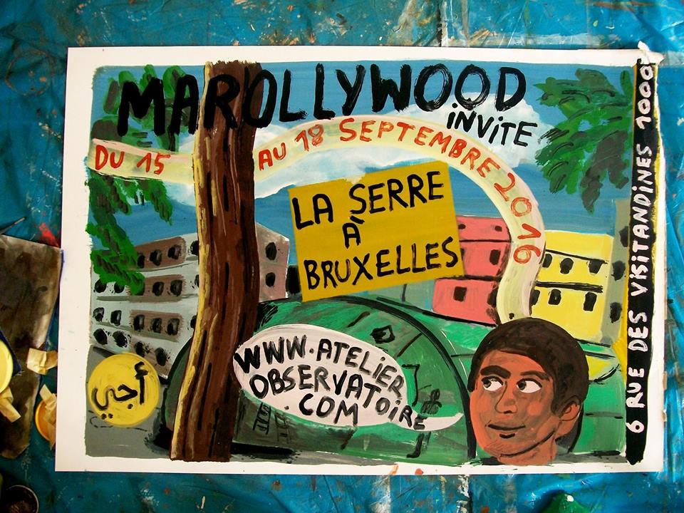 La Serre Bruxelles Marollywood