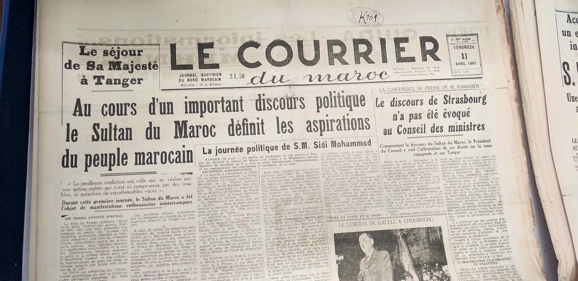 Le courrier 11 avril 1947 .jpg