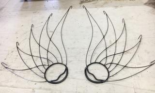 Phoenix Wings - Fire fans