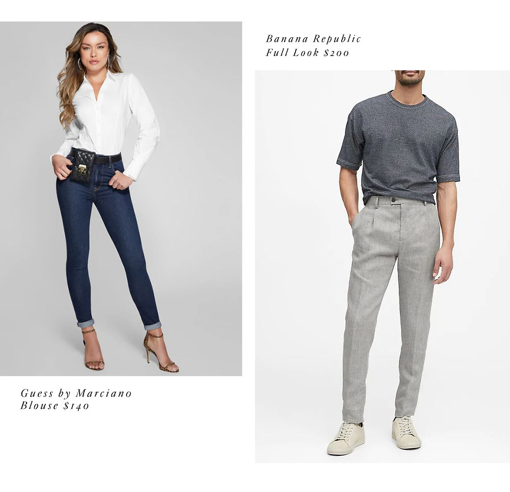 casual engagement photo outfit jeans ideas