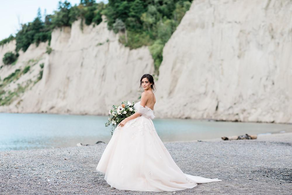 wedding photoshoot locations toronto scarborough bluffs