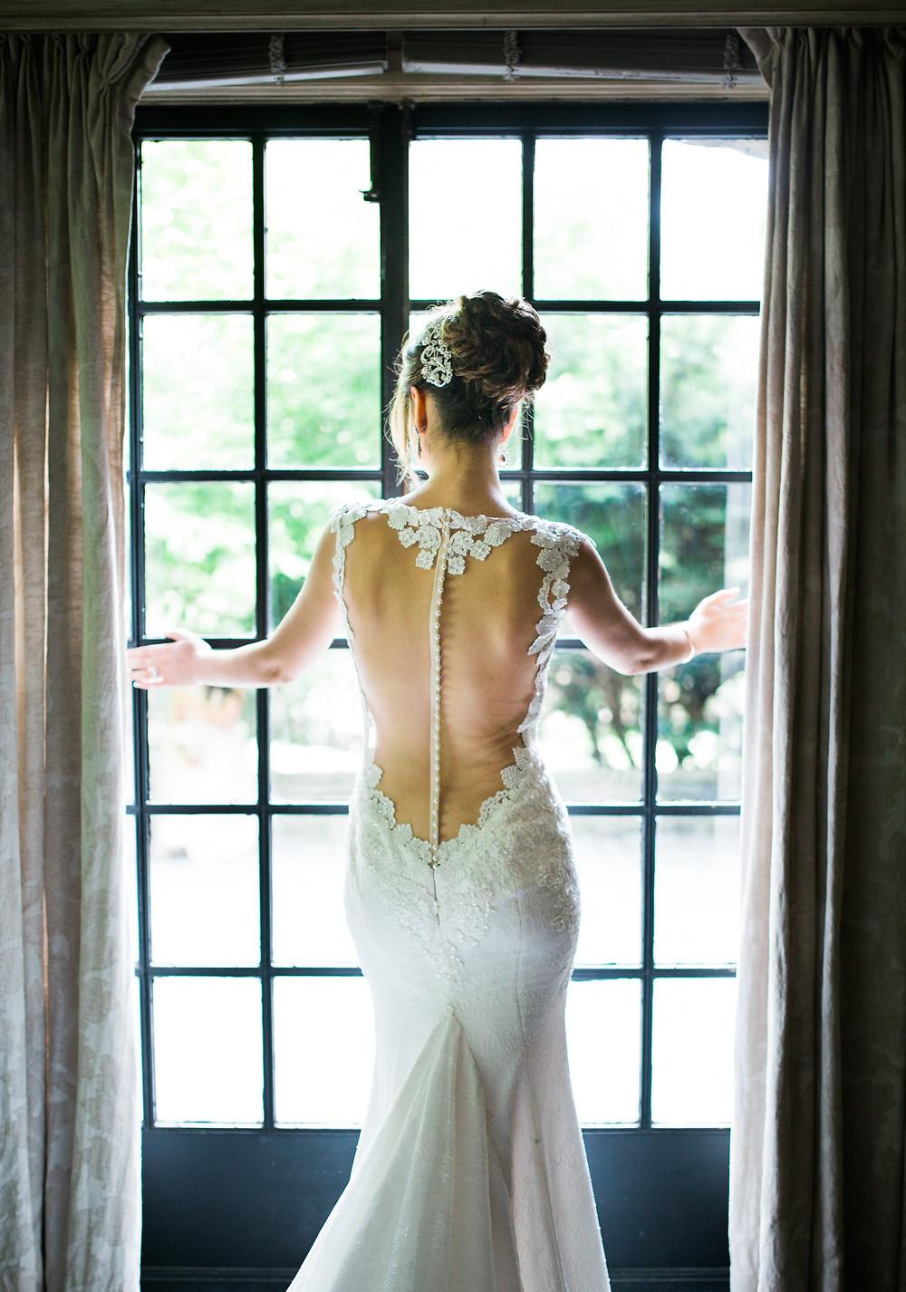 bridal style wedding dress