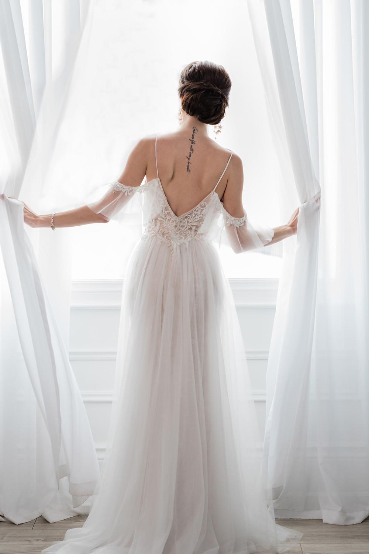 mint room studios bridal portrait