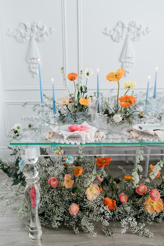 toronto luxury wedding reception table