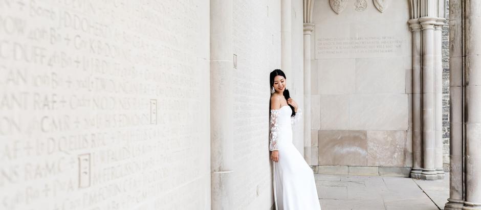 Elopement Photoshoot in Toronto: Modern City Romance