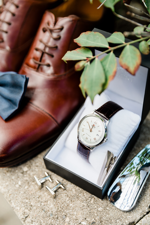 wedding details grooms shoes tie