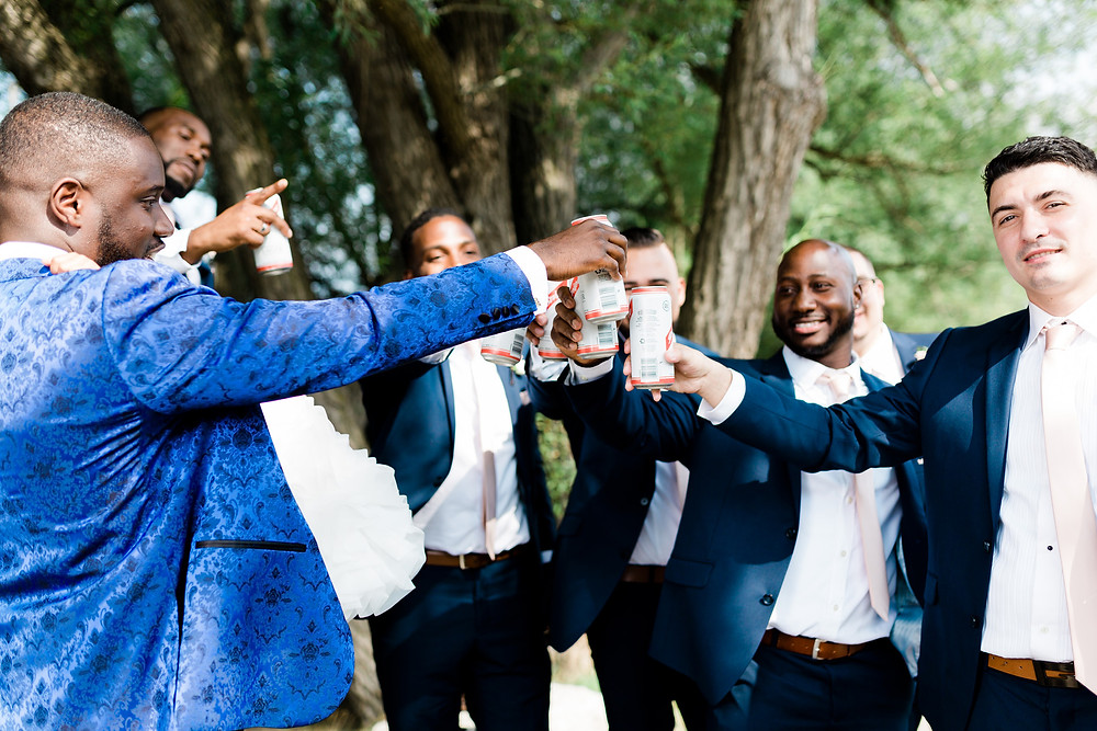 bridal party wedding photography vue and clubhouse